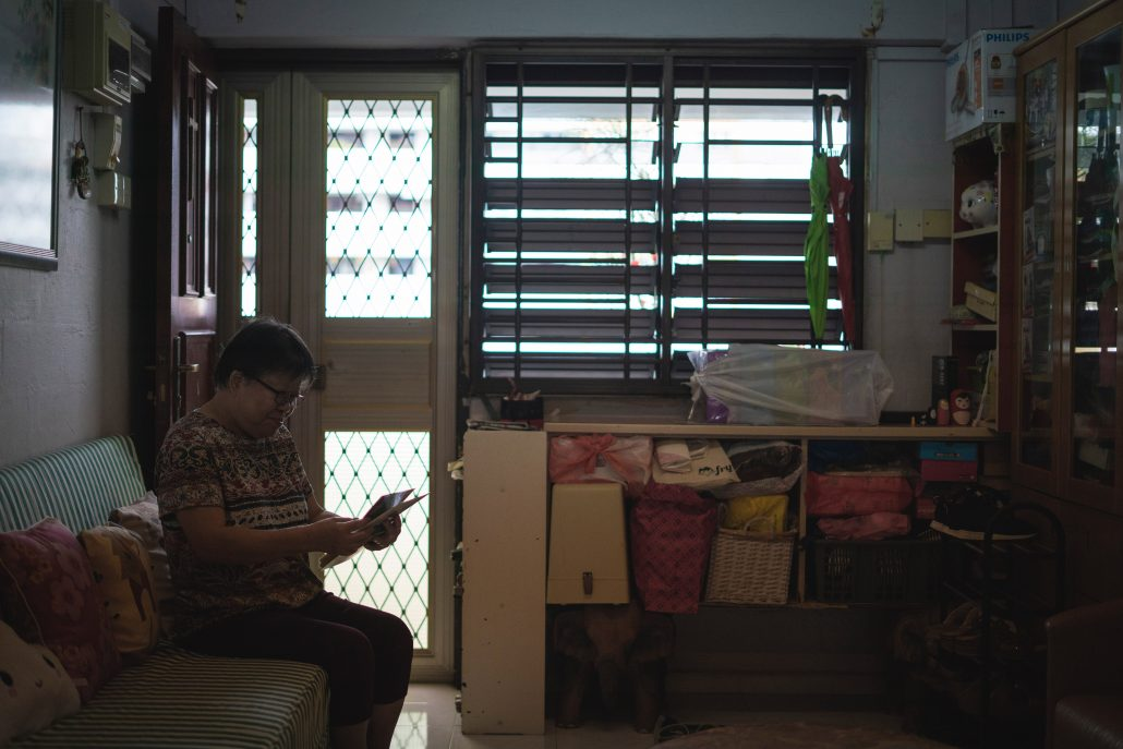cluttered house singapore